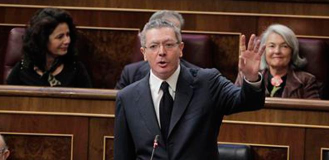 Alberto Ruiz-Gallardón evita comentar el indulto solicitado por Jaume Matas