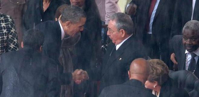 Fidel Castro felicita a Raúl por su
