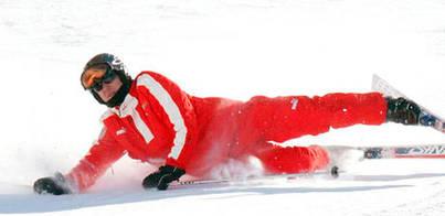 Un esquiador grabó el accidente de Schumacher