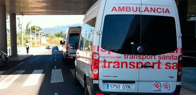 En estado grave tras ser apuñalado por la espalda en plena calle en Palma