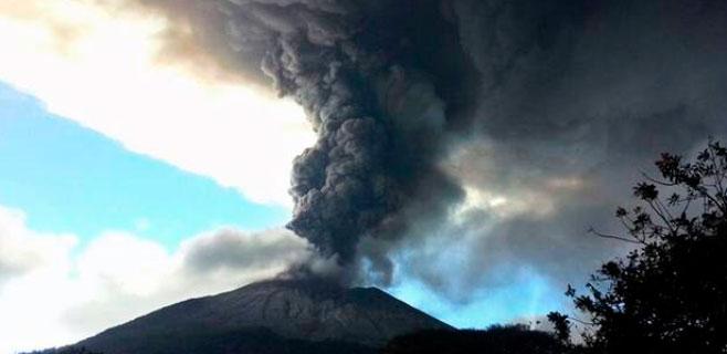 Las erupciones nacen en la corteza de la Tierra