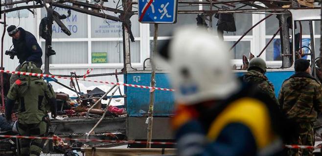 Al menos 14 muertos en otro atentado en Volgogrado