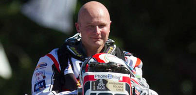 Muere el piloto Eric Palante en el Dakar