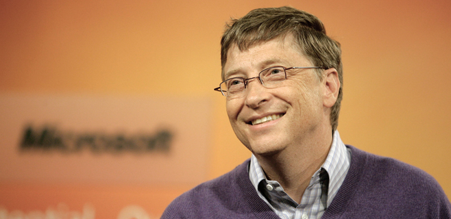 Bill Gates, 11.573 millones más rico en 2013