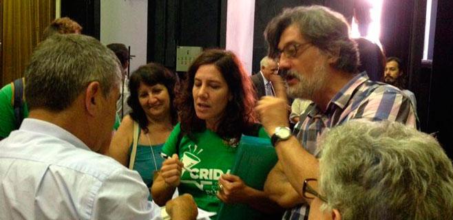 Caldentey lleva la lucha de los docentes ante un ministro de Brasil