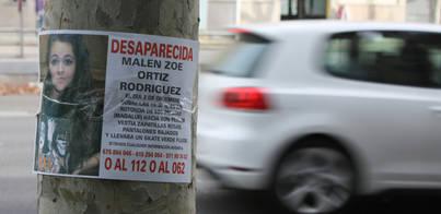 500 personas piden a las autoridades que no dejen de buscar a Malén Ortiz