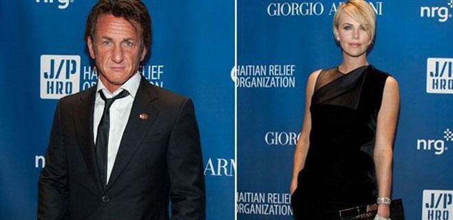 Sean Penn y Charlize Theron, la pareja del momento