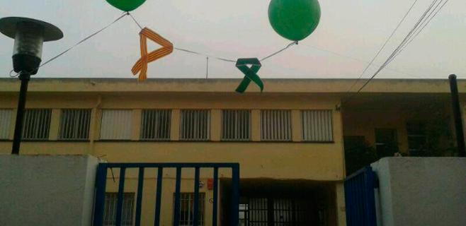 Los centros educativos burlarán el efecto de la Ley de Símbolos en globo