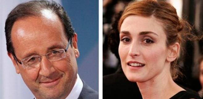 Julie Gayet deja a Hollande