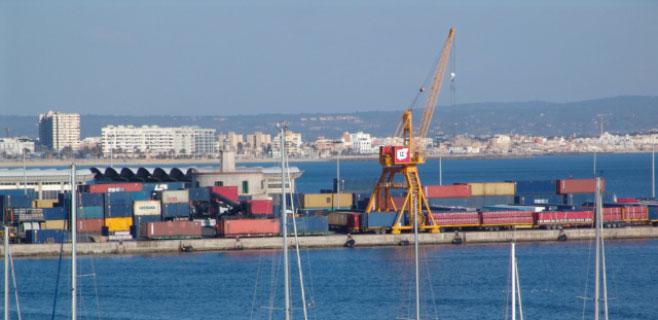 Las exportaciones caen un 2,6% en Balears hasta los 164 millones