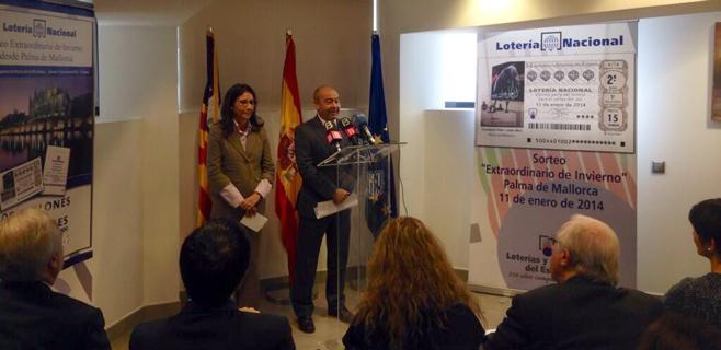 Balears acogerá el Sorteo de Invierno de la Lotería