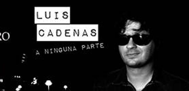 Luis Cadenas presenta A ninguna parte en Espai Xocolat