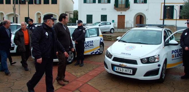 La Policía Local de Marratxí renueva su flota de vehículos