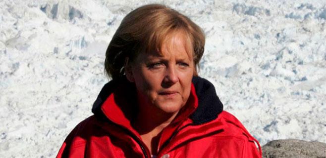Merkel se fractura la pelvis esquiando en Suiza
