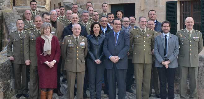 El comandante general de Balears agradece a los medios su labor