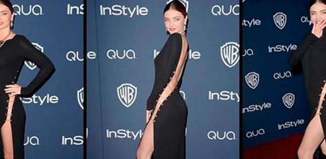 Miranda Kerr impresiona sin ropa interior