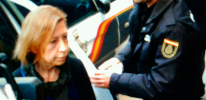 Maria Antònia Munar se acoge a su derecho a no declarar ante el juez