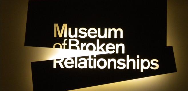 Un museo para las relaciones rotas