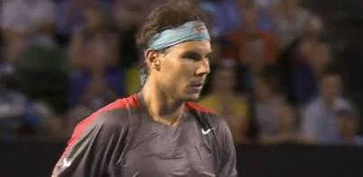 Nadal jugará las semifinales ante Federer
