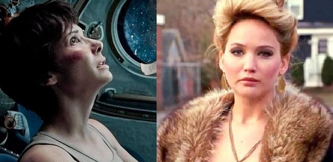 Gravity y La gran estafa americana, favoritas para los Oscar