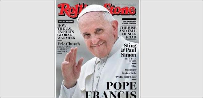 El Papa Francisco, portada de Rolling Stones