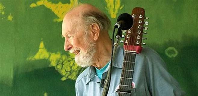 Muere el pionero del folk estadounidense Pete Seeger