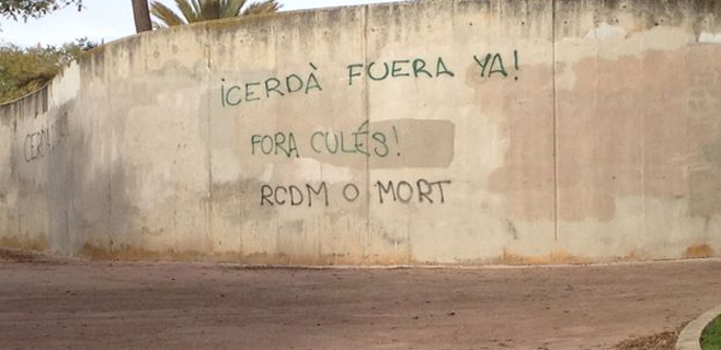 Clamor de los lectores a favor de la dimisión de Cerdá en el Mallorca