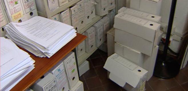 Plaga de ratones en el Registro Civil Central