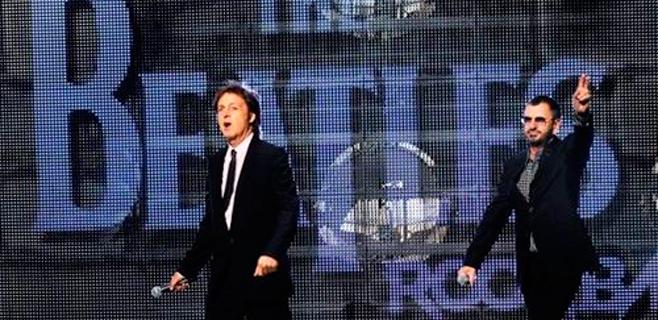 Paul McCartney y Ringo Starr actuarán juntos