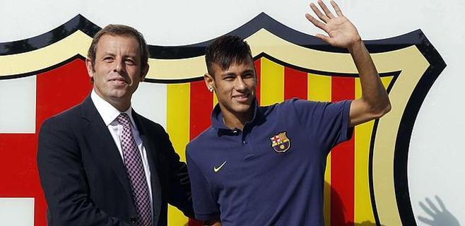 Admitida la querella contra Rosell por el fichaje de Neymar