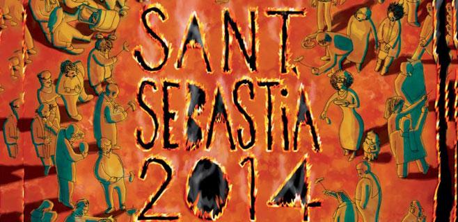 Noche de Revetla de Sant Sebastià