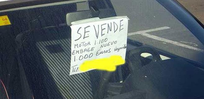 Més pide la eliminación de la tasa de compraventa de coches usados