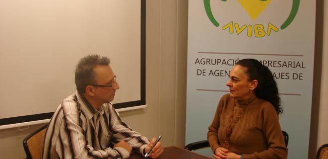 Sylvia Riera, presidenta de  AVIBA