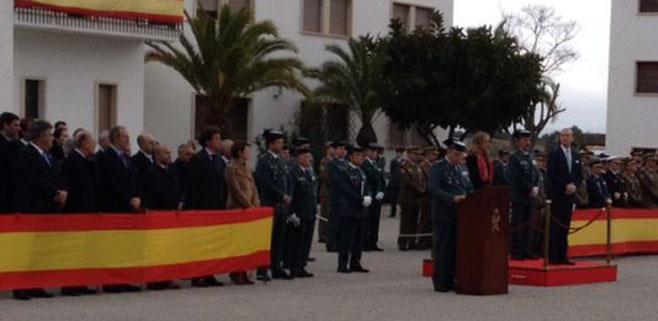 El coronel Jaume Barceló toma el mando de la Guardia Civil en Balears