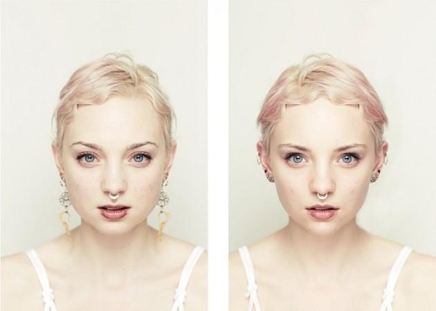 A prueba la simetría de la belleza