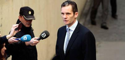 La Fiscalía pedirá de 10 a 19 años de cárcel para Iñaki Urdangarin