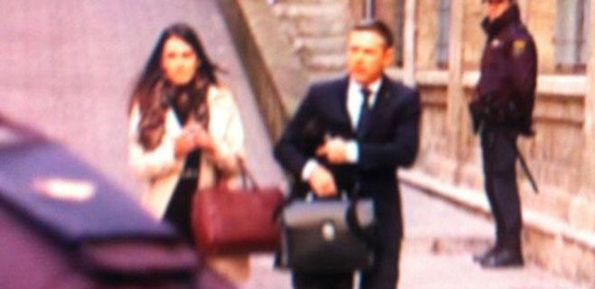 Libertad con cargos para el abogado acusado de grabar a la infanta Cristina