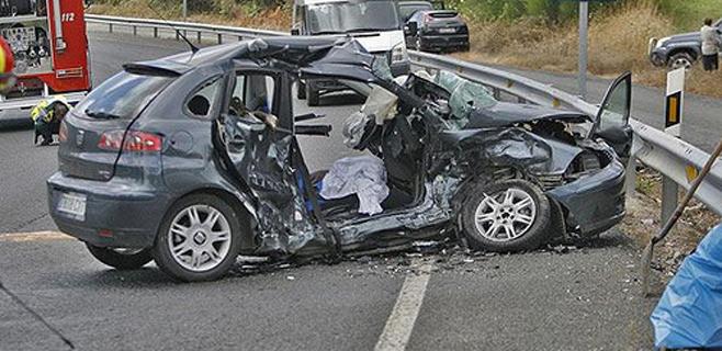 Los accidentes de tráfico suponen el 2% del PIB español