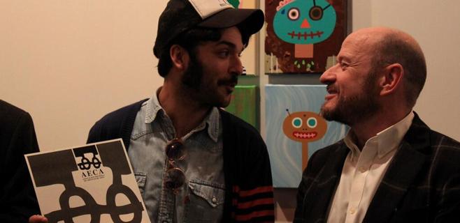 Albert Pinya recibe el premio al mejor artista español