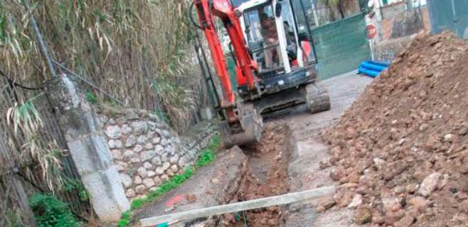 Concluídas las obras de alcantarillado del Camí Costa d'en Llorenç