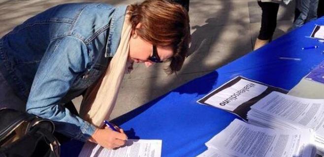 Balears diu No espera recoger 50.000 firmas a lo largo del fin de semana