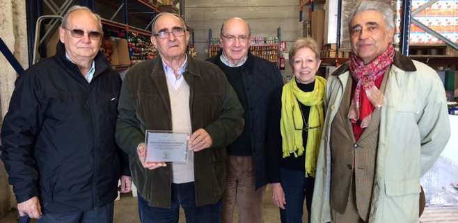 Bankia dona 10.000€ al Banco de alimentos de Balears
