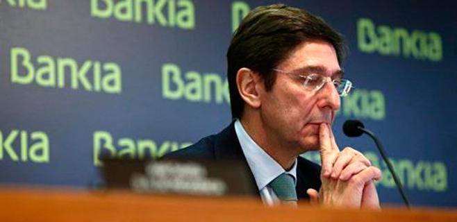 Bankia gana 556 millones hasta junio