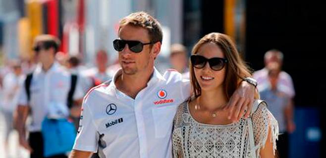 Jenson Button va camino del altar