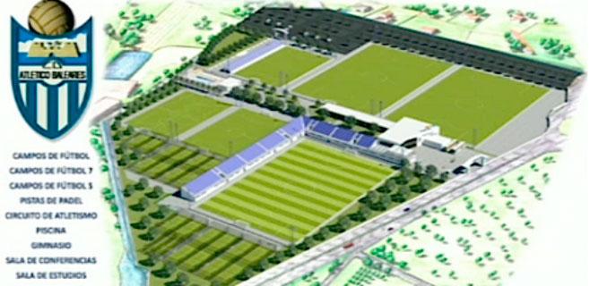El Atlètic Balears presenta su ciudad deportiva