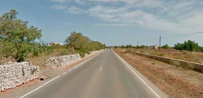 Dos heridos graves en un accidente de Campos a la Colònia de Sant Jordi