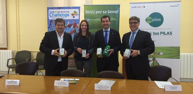 La XXIII Iberostar Challenge y Ecopilas colaboran con Tots per sa Serra