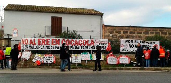 La planta de Palma consumirá su stock para elaborar Coca-Cola en 3 ó 4 días