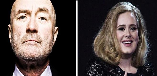 Phill Collins reaparece junto a Adele