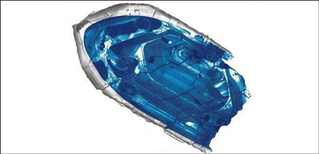 Hallado un pedazo de corteza terrestre de 4.400 millones de años